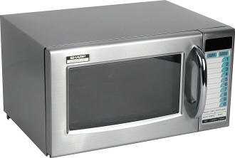 Sharp Microwave Semi Commercial